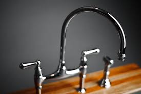 kitchen bridge faucet for kitchen design to ease of maintenance