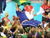 Após segundo ouro no vôlei, Zé Roberto diz ser privilegiado