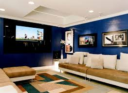 How To Decorate Media Room - how to decorate a man cave family room mediterranean with home bar