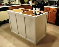 Building Kitchen Islands Cabinet How To Build A Kitchen Island With Cabinets Build A Diy