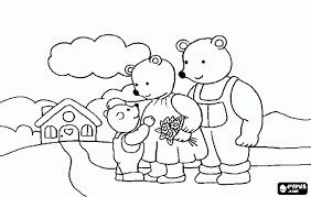goldilocks and the three bears colouring pages funycoloring