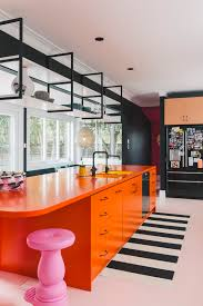 Laminex Solid Surface Brings Splash of Colour to Family Kitchen