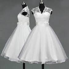 wedding dress ebay tea length wedding dress ebay