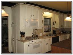 Spray Painting Kitchen Cabinets White Spray Paint Kitchen Cabinets Cork Roselawnlutheran