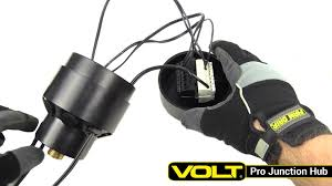 Connecting Landscape Lighting Wire - volt pro junction hub low voltage landscape lighting youtube