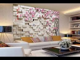 3d Wall Designs Bedroom Enjoyable Wallpaper Design For Wall Together With 3d In