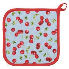 cherries betty collection kitchen potholder kitchen linens