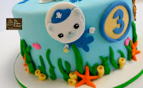 octonauts 3rd birthday cake birthdays the hudson cakery