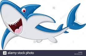 angry shark cartoon stock vector art u0026 illustration vector image