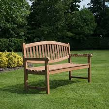 garden bench double oval 3 seat 150cm