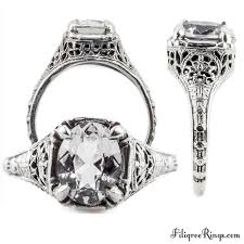 classic rings images Ov043fr classic filigree ring for a 9x7mm oval stone exotic jpg