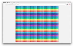 Color Shade by Thousands Of Color Coded Visualizations In React Elastic