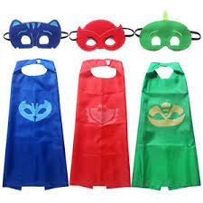 2017 pj mask cape mask pj mask costume kids birthday