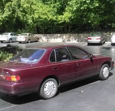 1993 toyota camry for sale 1993 toyota camry le burgundy only 97k in excellent