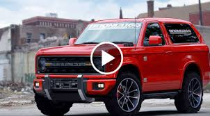 bronco car 2016 it is official u2013 ford ranger and ford bronco are making a huge