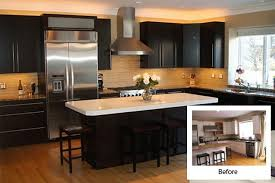 Diy Kitchen Cabinets Refacing by Kitchen Cabinet Refacing Pictures Before After Roselawnlutheran
