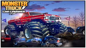 videos of monster trucks crashing monster truck car crusher android apps on google play