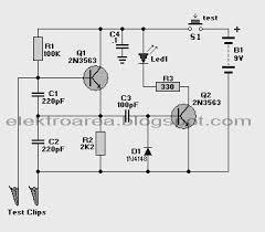 tester circuit schematic diagram wiring diagram