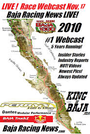 Baja Map Baja Racing News Live Countdown To The Green Flag Baja 1000 2010
