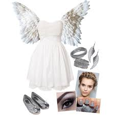 Halloween Costumes Angel Diy Sweet Angel Costume Biesiadecki Polyvore Featuring