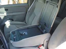 Fold Down Bench Seat Chevrolet Silverado Fold Down Armrest Console 2003 2013