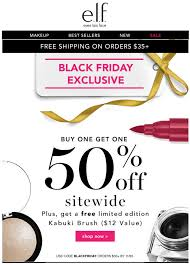 best buy black friday ad 2017 e l f cosmetics black friday 2017 sale u0026 deals blacker friday