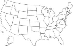 vector usa map united states clipart pencil and in color united states clipart
