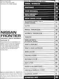 fuse box diagram 2001 nissan frontier nissan automotive wiring