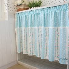 Teal Kitchen Curtains by Popular Kitchen Curtains Blue Buy Cheap Lots Curtain Cute Font Dot