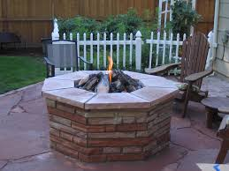 Outdoor Stone Firepits by Masun Energy Fire Pits