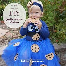 halloween cookie monster costume diy halloween costume s no sew