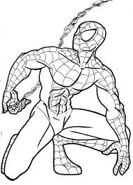 spiderman drawing pictures coloring pages wallpaper
