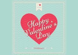 retro valentines retro s day wallpaper vector free vector