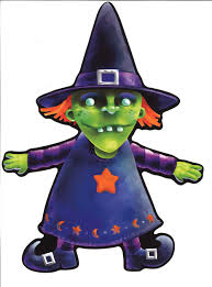 witch cutouts halloween beistle halloween cutouts from zombos u0027 closet