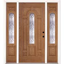 fiberglass doors front doors the home depot