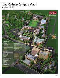 Iowa State Campus Map by Iona College Campus Map Ionaconnection Com Design Pinterest