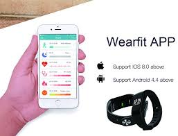 iphone health monitor bracelet images Smart band waterproof smart watch fitness tracker activity jpg