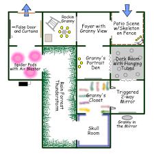 house layout ideas haunted house layout ideas