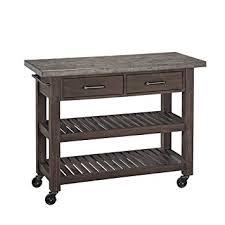 orleans kitchen island amazon com home styles concrete chic kitchen cart kitchen