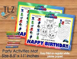 160 pj masks birthday images birthday party