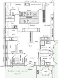 beautiful restaurant kitchen design layout samples commercial