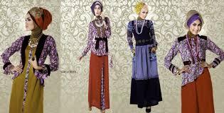 Pakaian Gamis Terbaru 2016 kreasi baju muslim modern 2015 nibinebu