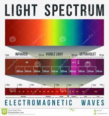 Visible Light Spectrum Wavelength Visible Light Spectrum Diagram Stock Illustration Image 79724745