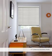 1 1 2 inch cordless faux wood blinds