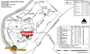 virginia state parks map adventures on the registration