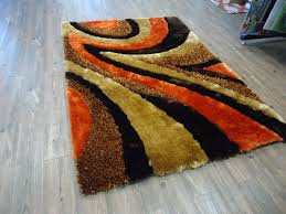 orange and brown area rug roselawnlutheran