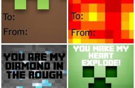 minecraft s day cards minecraft valentines day card enam