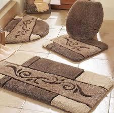 badezimmer teppiche stilvolle stunning 4 stück badezimmer teppich set altmodische