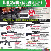 crossbow black friday sales cabela u0027s black friday 2016 ad scan