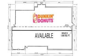 Fast Food Restaurant Floor Plan Saint Charles Restaurants For Lease